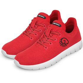 Giesswein Merino Runners - Calzado Hombre - rojo